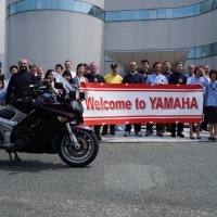 An Invincible FJR, the Relentless Rider and the Yamaha Factory Tour!