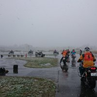 Rider training gets chilly